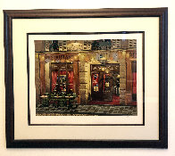 Le Vieux Chalet: Sidewalks of Paris 2004 Limited Edition Print by Liudimila Kondakova - 2