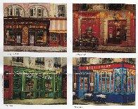 Le Vieux Chalet: Sidewalks of Paris 2004 Limited Edition Print by Liudimila Kondakova - 4
