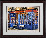 Chez Julien: 4 Sidewalks of Paris Suite 2002 Limited Edition Print by Liudimila Kondakova - 1
