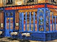 Chez Julien: 4 Sidewalks of Paris Suite 2002 Limited Edition Print by Liudimila Kondakova - 0