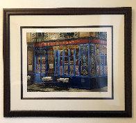 Chez Julien: 4 Sidewalks of Paris Suite 2002 Limited Edition Print by Liudimila Kondakova - 2