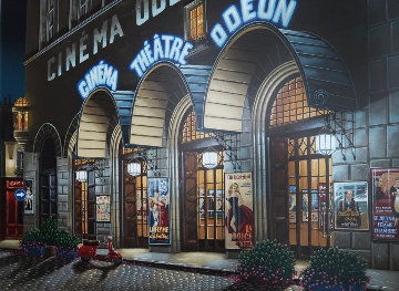Cinema Odeon 2006 Limited Edition Print - Liudimila Kondakova