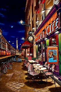 Follie's Cafe Limited Edition Print - Liudimila Kondakova