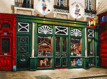 Toy Store 1998 Limited Edition Print - Liudimila Kondakova