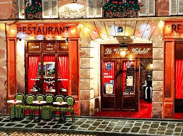 Sidewalks of Paris Suite: Le Vieux Chalet 1998 Limited Edition Print - Liudimila Kondakova