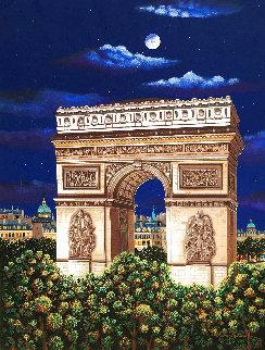 Arc De Triomphe Limited Edition Print - Liudimila Kondakova