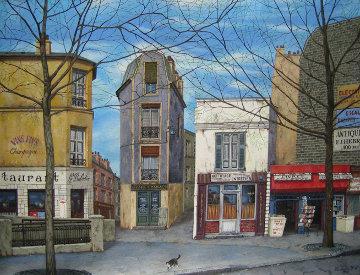 La Balaein 1994 30x40 Original Painting - Liudimila Kondakova