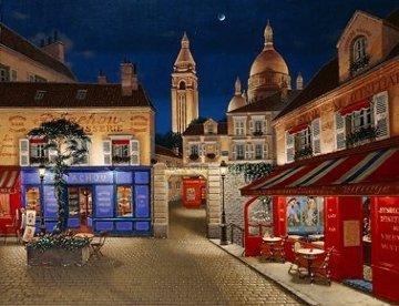 Montmartre Village 1998 Limited Edition Print - Liudimila Kondakova