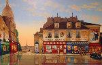 Montmarte Morning 2004 Limited Edition Print - Liudimila Kondakova