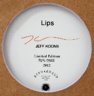 Lips Porcelain Plate 2012 Limited Edition Print by Jeff Koons - 2
