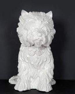 Puppy Porcelain Vase 1998 Sculpture - Jeff Koons