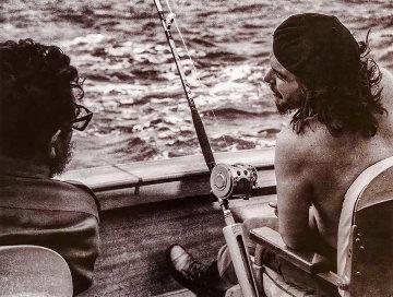 Che Guevara And Castro Fishing, 1960 Limited Edition Print - Alberto Korda