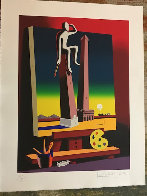 Loophole With a View 2001 Limited Edition Print by Mark Kostabi - 1