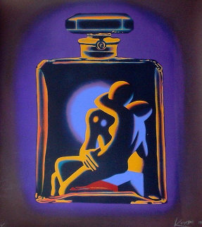 Chanel # 5 1990 Limited Edition Print - Mark Kostabi