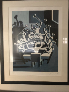 Upheaval 1994 Limited Edition Print - Mark Kostabi