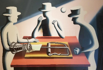 Art of the Deal (Iron Fist) 1993 Limited Edition Print by Mark Kostabi