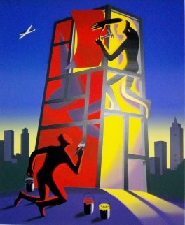 Untitled Lithograph 2002 Limited Edition Print - Mark Kostabi
