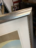 Golden Kiss 1995 Limited Edition Print by Mark Kostabi - 4