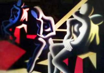 Languor of Love 1993 Super Huge Limited Edition Print - Mark Kostabi
