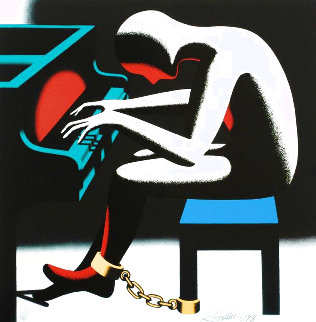 I Did It Steinway 1998 Limited Edition Print - Mark Kostabi