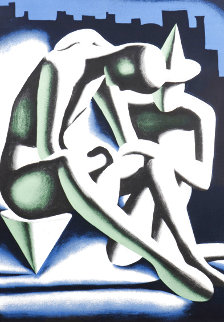 Best Buddies 1992 Limited Edition Print - Mark Kostabi