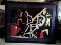 Languor of Love 1993 Limited Edition Print by Mark Kostabi - 1