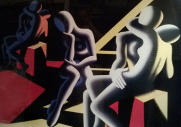 Languor of Love 1993 Limited Edition Print by Mark Kostabi