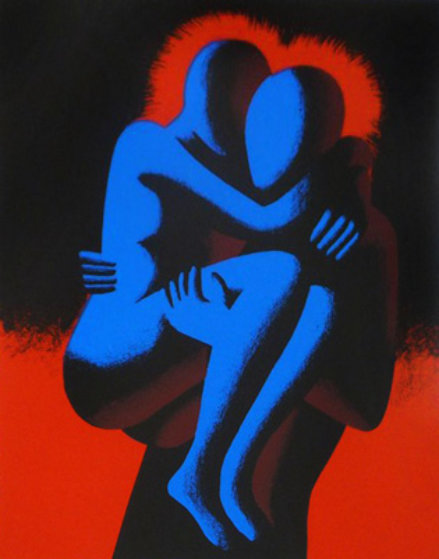Heartshare 1993 Limited Edition Print by Mark Kostabi