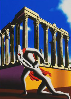 Eternal City 2002 Limited Edition Print - Mark Kostabi