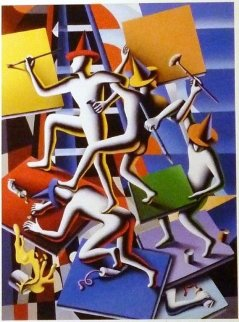 Regardless We Need Each Other 2014 Limited Edition Print - Mark Kostabi