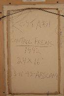 Control Freak 1992 21x29 Original Painting by Mark Kostabi - 5