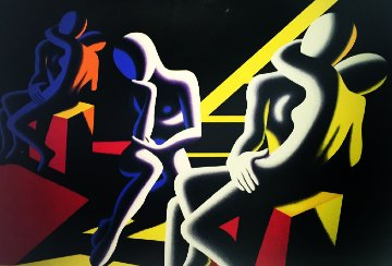 Langour  of  Love 1993 Limited Edition Print - Mark Kostabi
