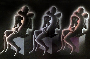 Exercise in Color TP 1994 Limited Edition Print - Mark Kostabi