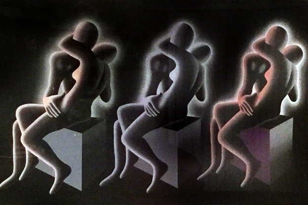 Exercise in Color TP 1994 Limited Edition Print by Mark Kostabi