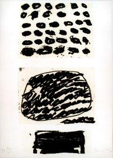 Homage to Federico Garcia Lorca 2001 Limited Edition Print - Jannis Kounellis