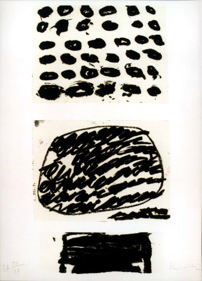 Homage to Federico Garcia Lorca 2001 Limited Edition Print by Jannis Kounellis