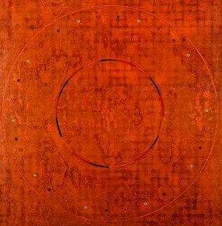 Concentric Episode Series, Chernut 32.04.1 , 2004 32x32 Original Painting - Kris Cox