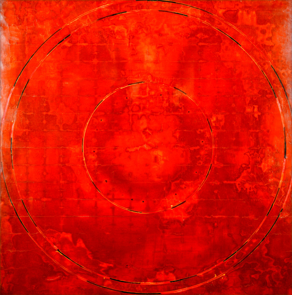 Concentric Episode Series: Hausa 2000 35x32 Huge Original Painting by Kris Cox