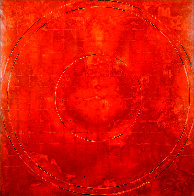 Concentric Episode Series: Hausa 2000 35x32 Huge Original Painting by Kris Cox - 0