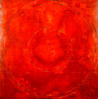 Concentric Episode Series: Hausa 2000 35x32 Original Painting - Kris Cox