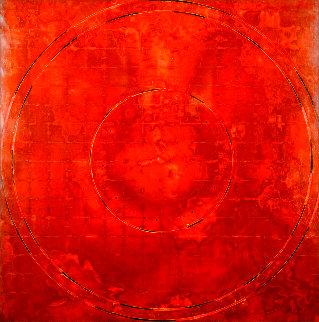 Concentric Episode Series: Hausa 2000 35x32 Huge Original Painting - Kris Cox