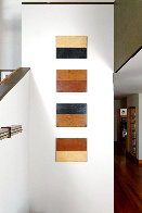 Four Stacker BEWC 82x20 Super Huge Installation Original Painting by Kris Cox - 4