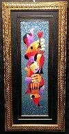 Merry Toast 55x26 Original Painting by Anatole Krasnyansky - 2