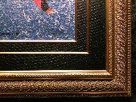 Merry Toast 55x26 Original Painting by Anatole Krasnyansky - 3