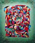 Phoenix 1998 Embellished Limited Edition Print - Anatole Krasnyansky