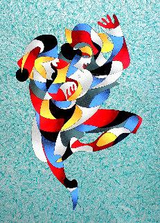 Dancing a Jig AP 2003 Limited Edition Print by Anatole Krasnyansky