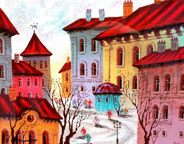 Old Rottenburg, Germany 2005 Limited Edition Print - Anatole Krasnyansky