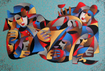 Merry Revelry 2007 Limited Edition Print by Anatole Krasnyansky