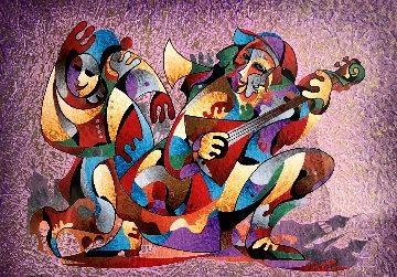 Village Song 2012 Limited Edition Print by Anatole Krasnyansky