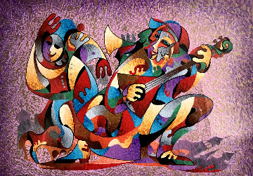 Village Song 2012 Limited Edition Print - Anatole Krasnyansky